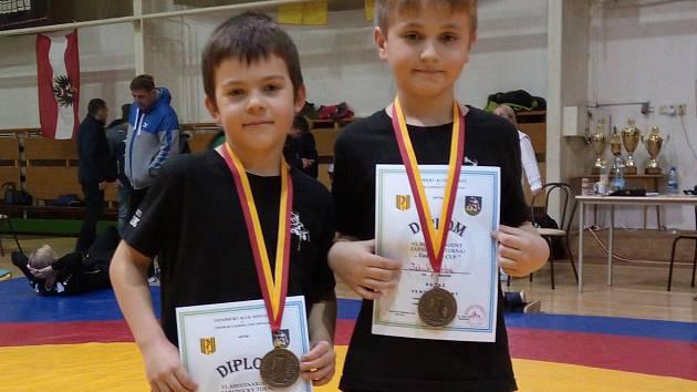 Čechovičtí zápasníci jsou úspěšní.