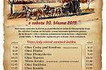 Zahájení sezony v Čechách pod Kosířem - plakát