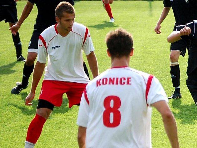 Fotbalisté Konice. Ilustrační foto