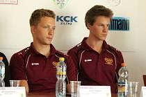 Robin Wagner (vlevo) a Pavele Kelemen