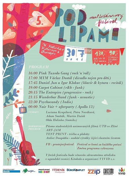 Festival pod Lipami vProstějově.