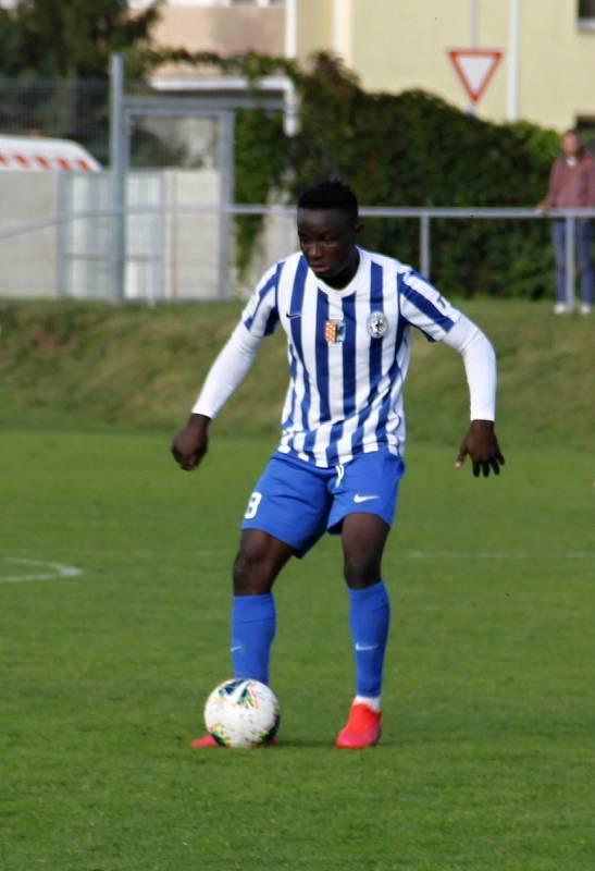 Prostějov prohrál ve 3. kole poháru doma s Bohemians 0:4.Solomon Omale