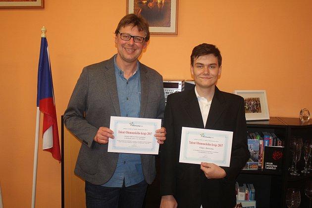 SOŠPO získalo ocenění Talent Olomouckého kraje jako jediná škola z Prostějovska.