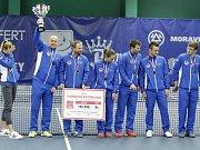 V Prostějově se konalo finále tenisové extraligy mezi domácím týmem a Spartou Praha  TK Sparta Praha