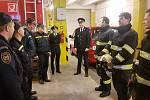 Hasiči v Konici naposledy vystřídali směnu ve staré požární stanici.