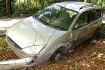 Nehoda fordu u Drahan