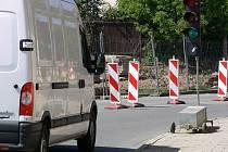 Dopravní omezení v Krasické ulici