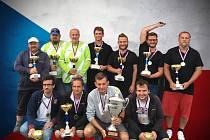 Krumsínská čtyřka Petr Juráň, Pavel Hodboď, Jaroslav Vlk a Robert Janeček vyhráli mistrovství České republiky v pentaque.