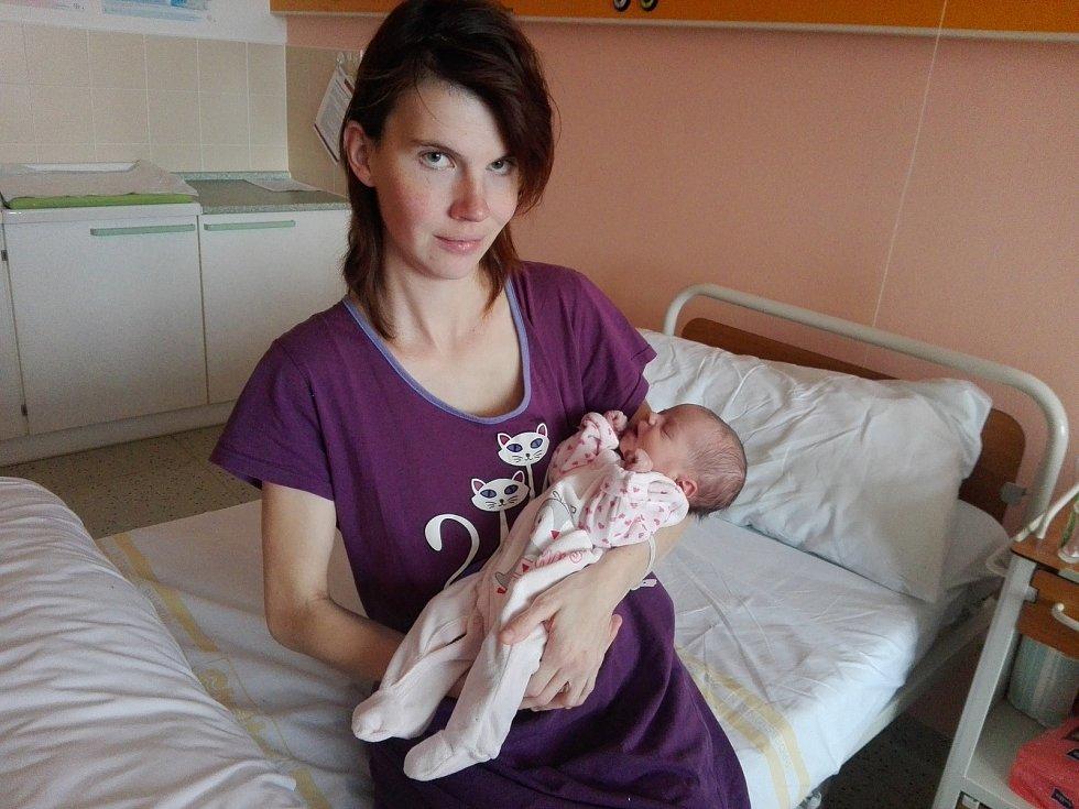 Prvním miminkem v Olomouckém kraji je Viktorka, která se narodila v prostějovské porodnici