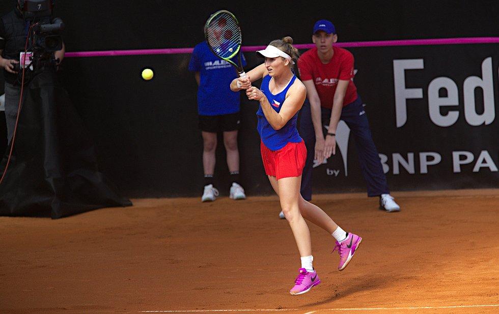 Třetí zápas Fed Cupu.