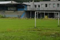 Fotbalový stadion ve Sportovní ulici v Prostějově