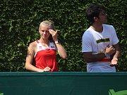 Mistrovství světa družstev do 14 let v tenisu, Prostějov. Linda Fruhvirtová