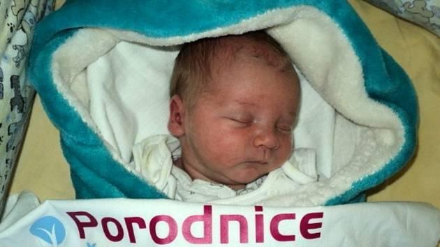 Jaroslav Anderš, Bělkovice-Lašťany, narozen 26. května 2021, míra 51 cm, váha 3610 g
