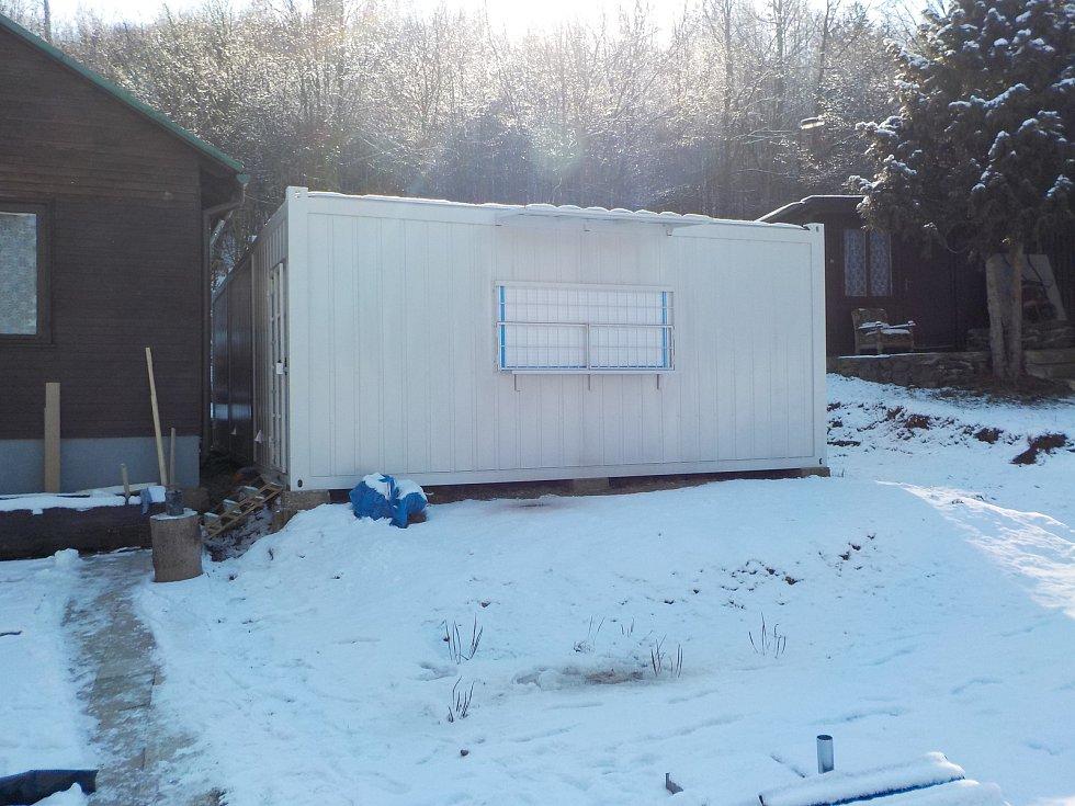 Nová kontejnerová kuchyně v plumlovském kempu Žralok