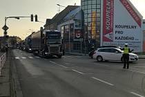 Wolkerova ulice v Prostějově. Ilustrační foto