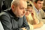 Ustavující zasedání zastupitelstva v Olšanech, starosta Elfmark