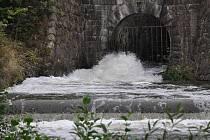 Výpust plumlovské přehrady