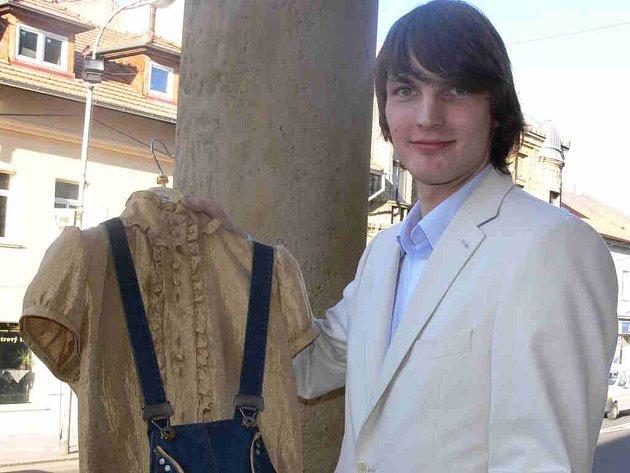 Leo Macenauer s jedním ze svých modelů.