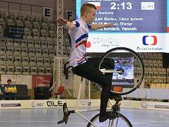 Nadějný krasojezdec Martin Kouřil skončil o pověstný chloupek od medaile.