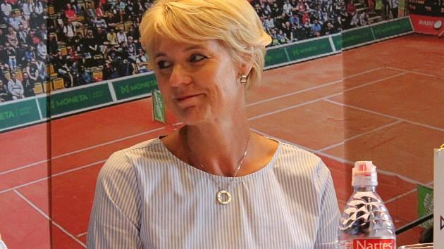 Ředitelka tenisových projektů TK PLUS - Petra Černošková.