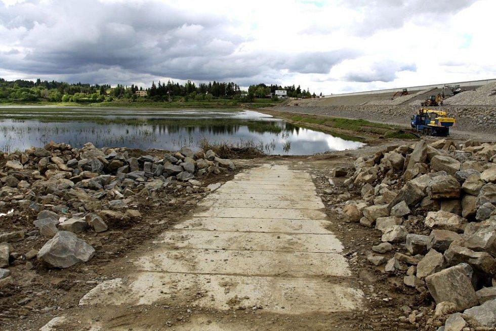 Plumlovská přehrada 31. května 2013