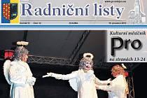 Prostějovské Radniční listy. Ilustrační foto