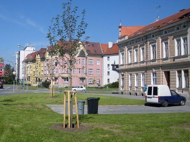 V Prostějově přibude veřejná zeleň