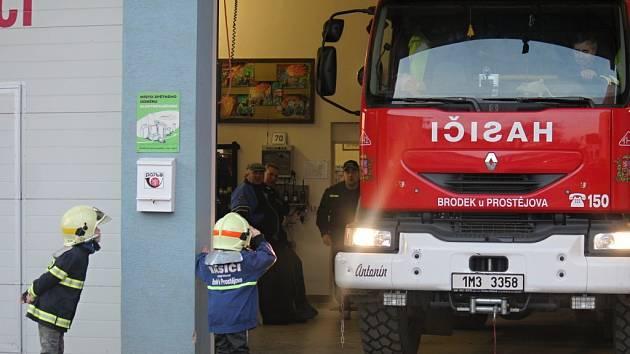 V Brodku u Prostějova mají hasiči předlouhou tradici. Letos oslaví už sto třicáté výročí založení sboru.