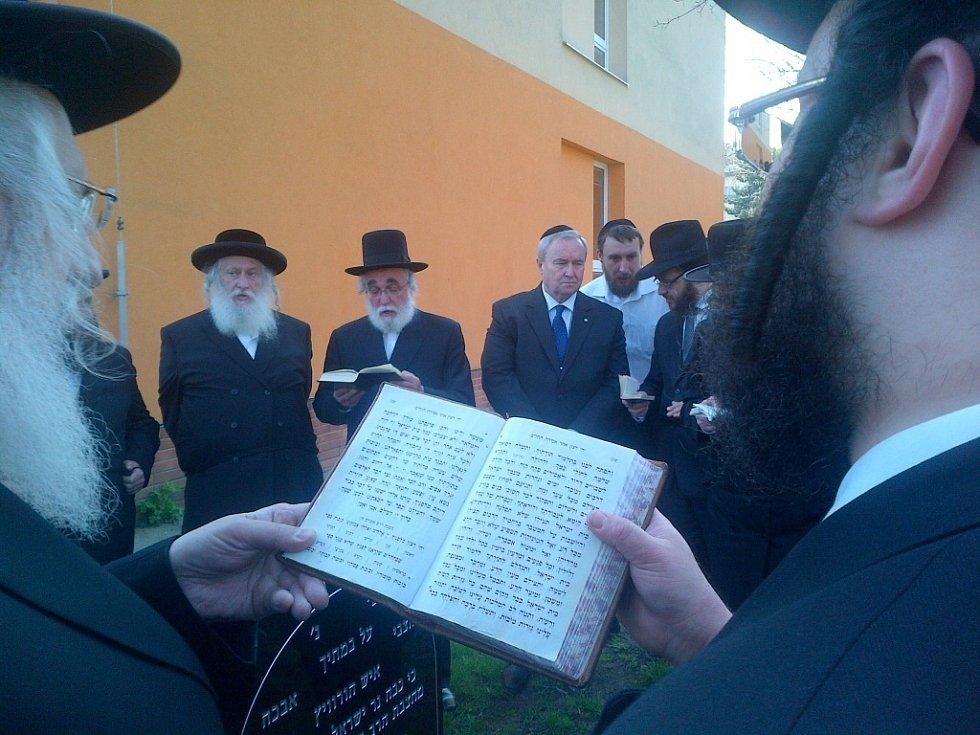 Setkání Židů v Prostějově