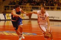 Goran Savanovič (vpravo) a Marek Stuchlý, bývalý hráč Orlů.