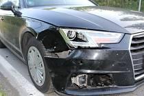 Nehoda auta se srnou u Kobeřic - 1.5. 2019
