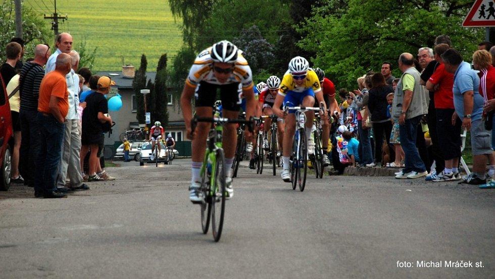 Matouš Hynek dospurtoval v třetí etapě na šestém místě za Adamem Ťoupalíkem