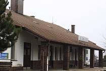 Nádraží v Konici