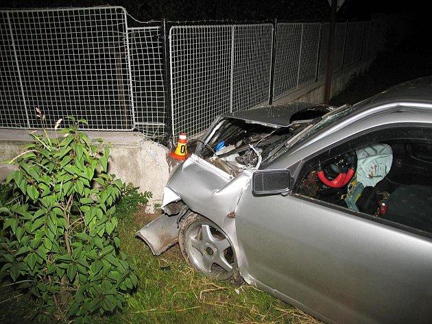 Nehoda v Lešanech