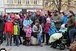 Od sobotního rána se centrem Prostějova rozpoutalo masopustní veselí. 22.2. 2020
