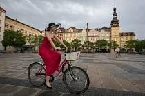 Rekola, Bikesharing, sdílení jízdních kol v Ostravě, 3. května 2018 v Ostravě.