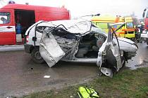 Tragická nehoda u Brodku u Prostějova