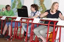 Eurovolby na ZŠ Melantrichova v Prostějově