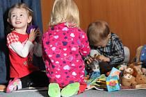 Kurz první pomoci u dětí v Mateřském centru v Kostelci na Hané