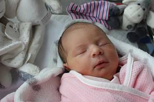 Eliška Sekaninová, Vrbátky, narozena 10. dubna 2019 v Prostějově, míra 50 cm, váha 3200 g