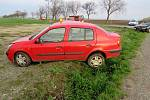 Srážka dvou osobních automobilů na křižovatce u Němčic nad Hanou