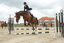 Jezdci na koních se sešli v sobotu na kolbišti v Mostkovicích