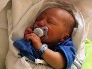 Tobias Navrátil, Smržice, narozen 1. června v Prostějově, míra 48 cm, váha 2700 g
