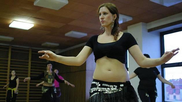 Břišní tanečnice v akci