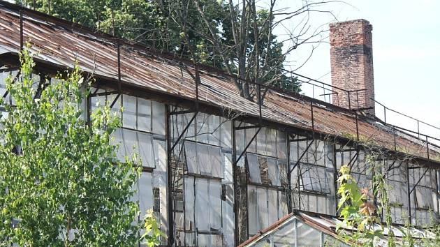 Oranžerie v Brněnské ulici v Prostějově