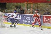 2. kolo WSM Ligy, LHK Jestřábi Prostějov - HC Stadion Litoměřice 1:4 (1:0, 0:1, 0:3). Tomáš Divíšek (Prostějov)