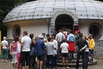 Den otevřených dveří na meteorologické stanici u Protivanova