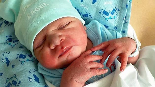 Kristián Mirga, Držovice, narozen 3. března 2021 v Prostějově, míra 50 cm, váha 3250 g