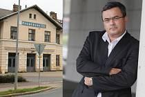Podnikatel Benýšek chce koupit Místní nádraží v Prostějově