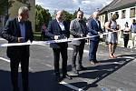 Slavnostní otevření silničního průtahu Stařechovicemi. 13.7. 2020